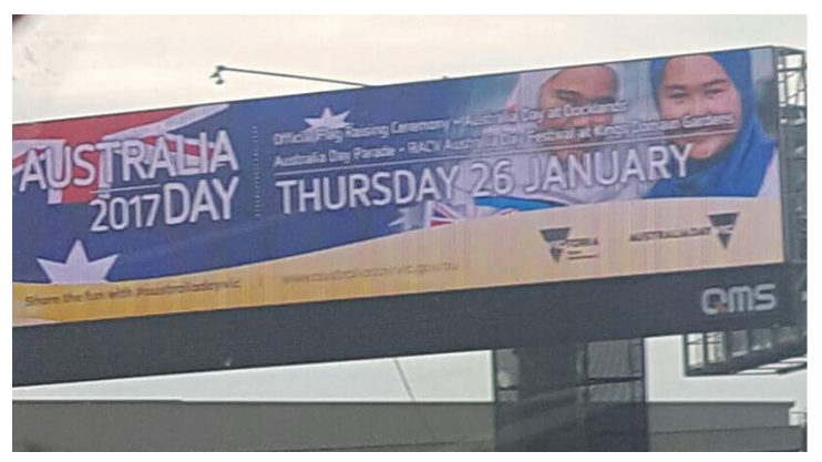 Image of Australia Day OOH 2017