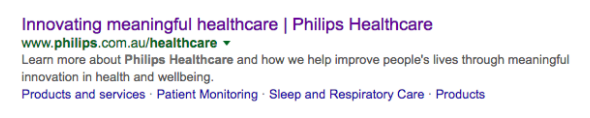 Image of Philips Search