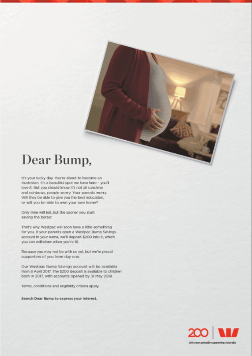 Image of Bump Print Campaign