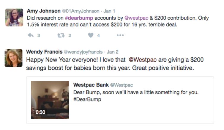 Image of Westpac Social Sentiment