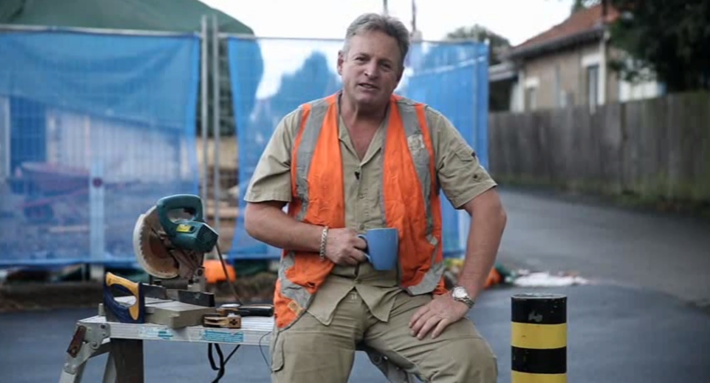 Insert image of faketradie campaign