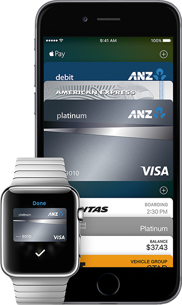 ANZ Apple Pay on Apple Watch and iPhone