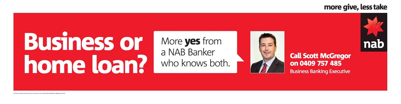 Image of NAB Business or Homeloan Campaign