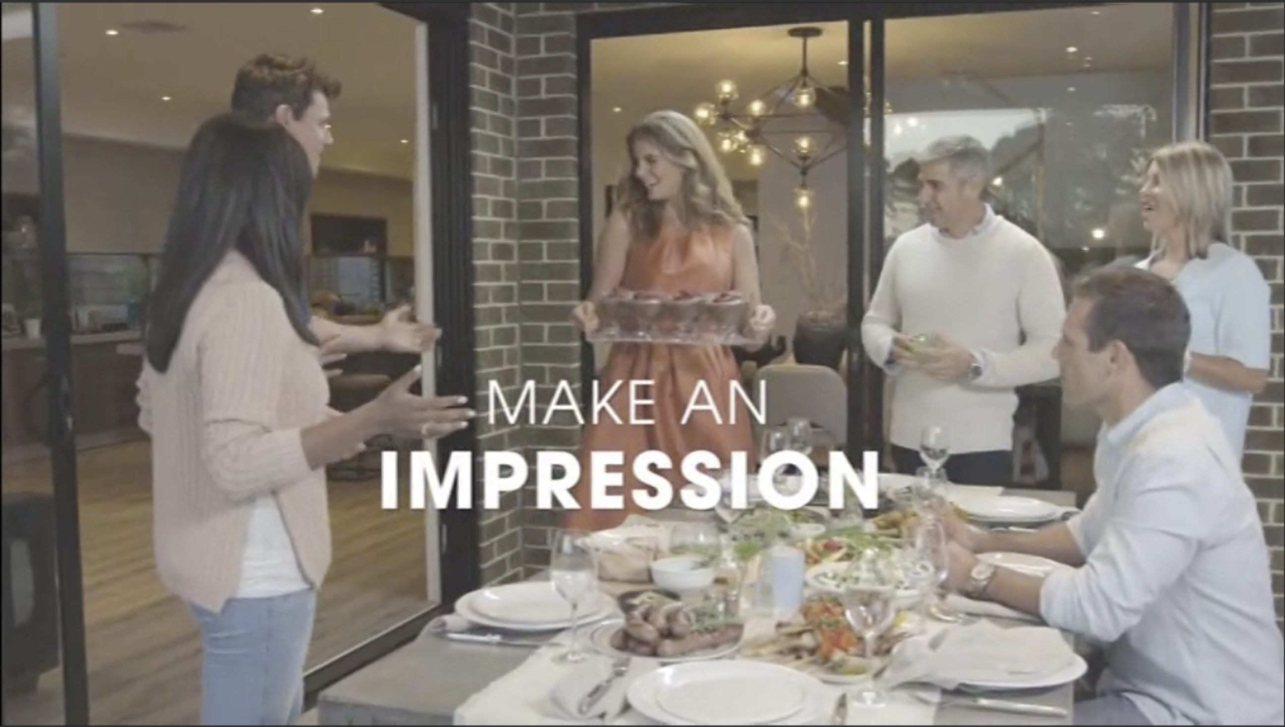 "Boutique Homes ""Make an impression, build your new home"" campaign focused on a price point starting from $187,000."