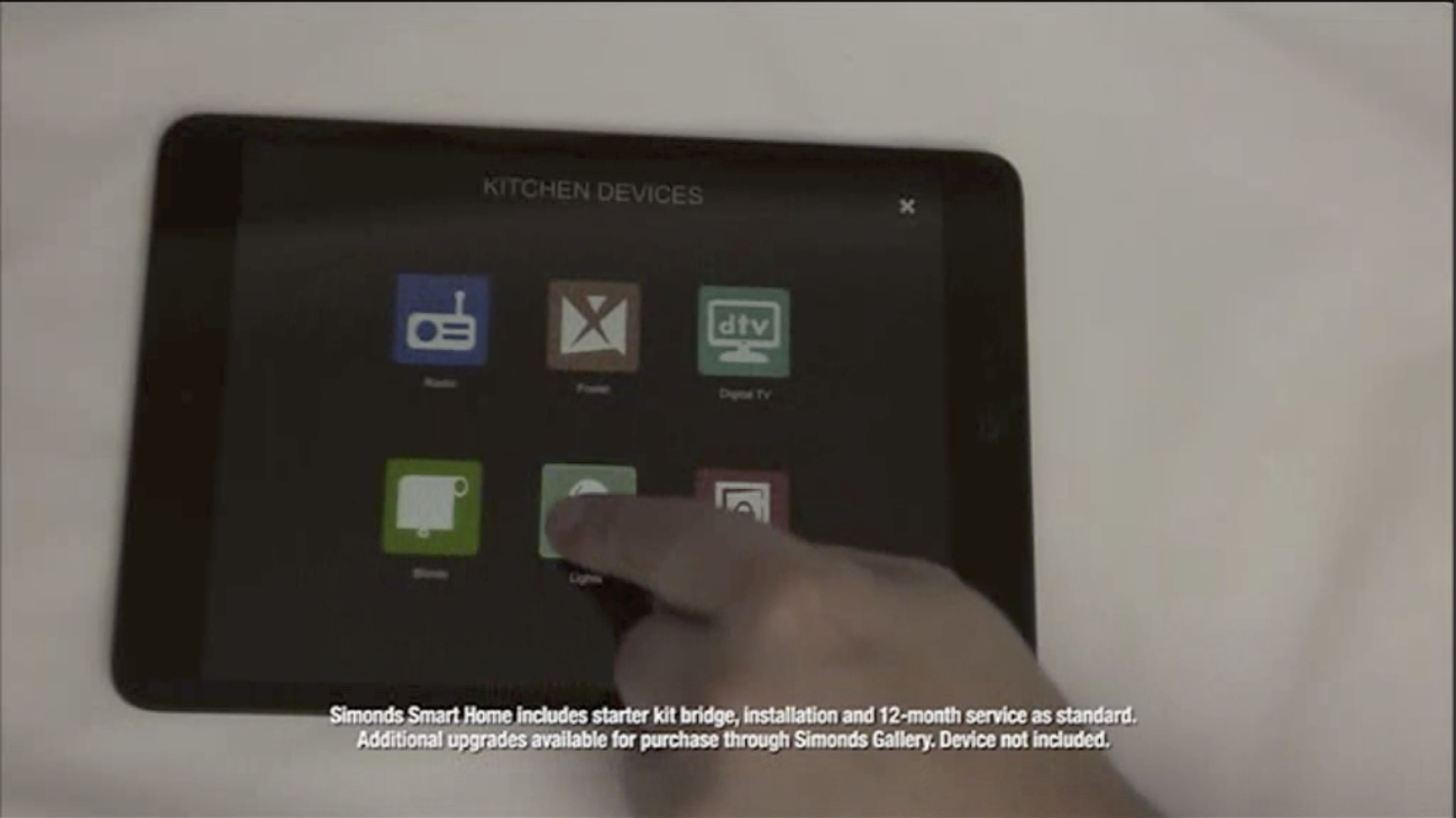 "Simonds ""Smart home ready when you are"" campaign connected with viewers by showcasing Home Automation Technology capabilities."